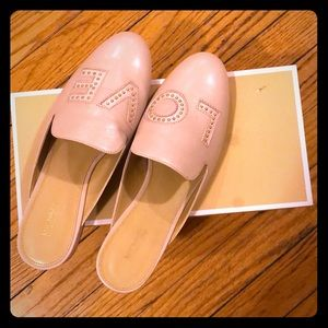 Michael Michael Kors Natasha Love Leather Slide